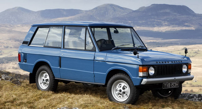 Range Rover 02 40 Years of the Range Rover in 1:40 Minutes Photos Videos