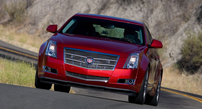 2009 Cadillac CTS 11 GM Recalling Over 1.5 Million Vehicles Worldwide for Fire Danger   Photos