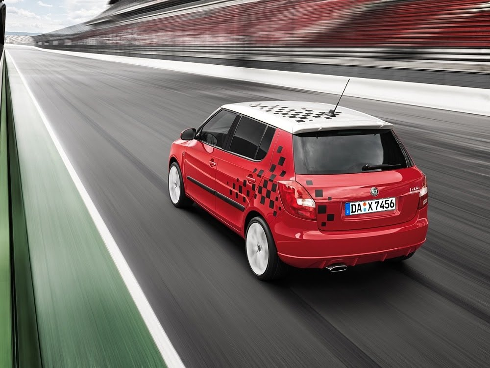 2000 Skoda Fabia Sketches. Skoda Launches Race-Package