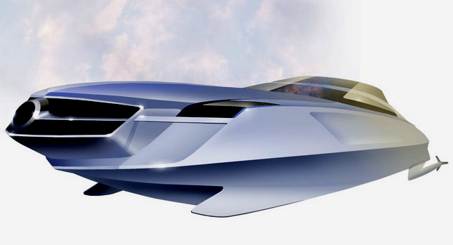 Mercedes Benz 0 If Carmakers Made Speedboats What Would They Look Like Photos