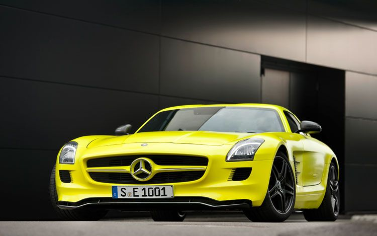 Mercedes Benz Sls Amg �10. Mercedes-Benz SLS AMG E-Cell