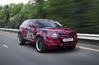 2012 Range Rover Evoque Prototypes 20 Land Rover raps Evoque Prototypes in Funky Camouflage and Hits the StreetsWraps Evoque Prototypes in Funky Camouflage and Hits the Streets