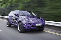 2012 Range Rover Evoque Prototypes 24 Land Rover raps Evoque Prototypes in Funky Camouflage and Hits the StreetsWraps Evoque Prototypes in Funky Camouflage and Hits the Streets