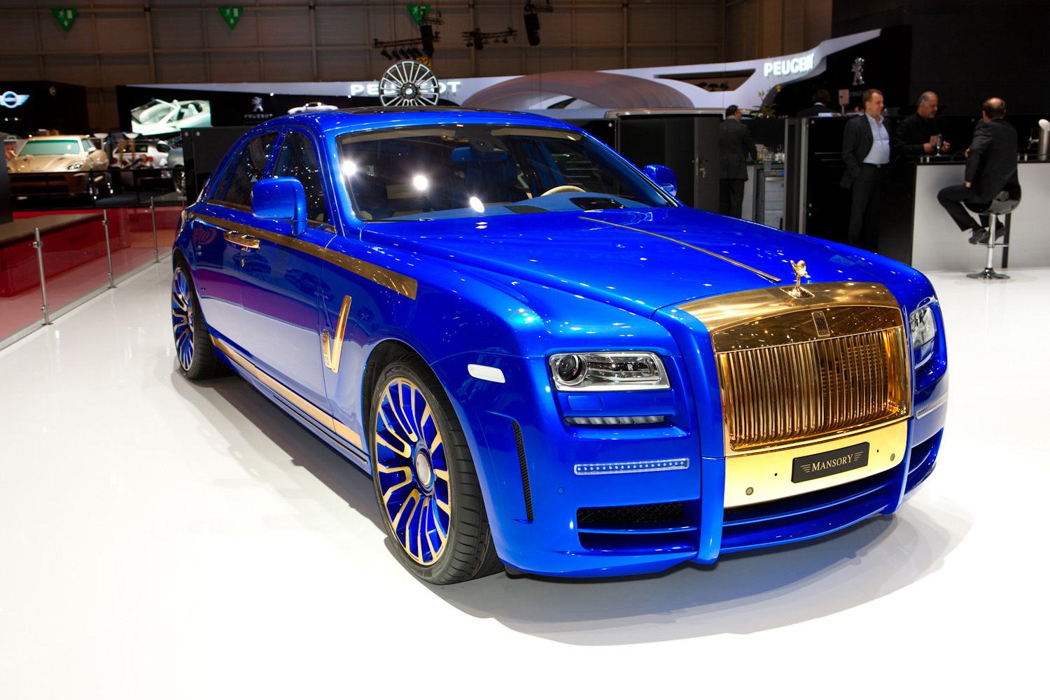 new mansory rolls royce ghost skips on the gold flakes. Black Bedroom Furniture Sets. Home Design Ideas