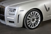 Mansory RR Ghost White 8 New Mansory Rolls Royce Ghost Skips on the Gold Flakes