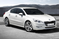 2011 Peugeot 508 3 New Peugeot 508 Officially Unveiled gets HYbrid4 Variant with 200HP and AWD