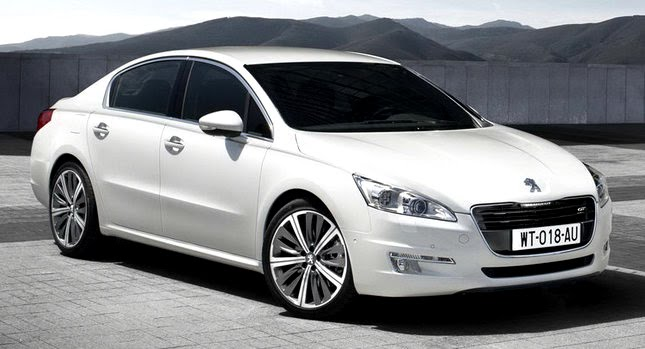 2011 Peugeot 508 0 New Peugeot 508 Officially Unveiled gets HYbrid4 Variant with 200HP and AWD