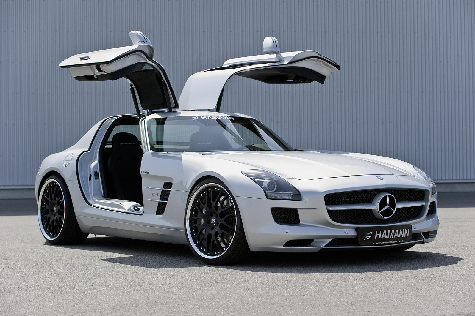 Hamann Adds Some Bits To The Mercedes Benz Sls Amg