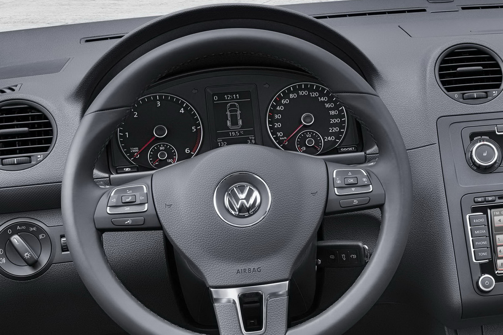 The 2011 Volkswagen Caddy price starts at 13,595 Euro and the first