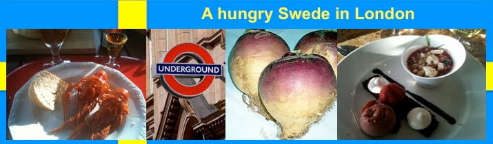 A hungry Swede in London