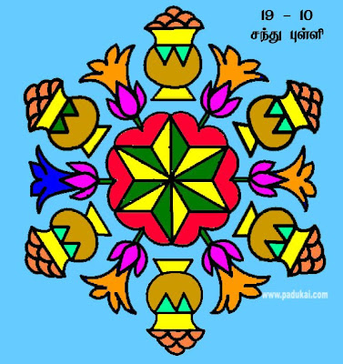Tamil Nadu Pongal Festival Kolangal and Beautiful Rangoli Designs