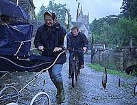 """It's raining fish. Alleluia""! Girini e pes"