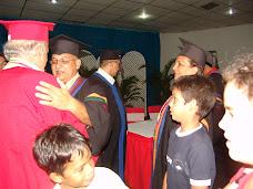 Rector felicita al Dr. Lanz Rodríguez