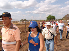 El Vicerrector en pleno recorrido