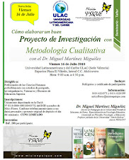 Migulez dictar Seminario Taller en Metodologa Cualitativa