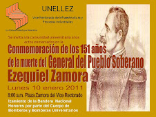 151 AÑOS DE LA MUERTE DE EZEQUIEL ZAMORA