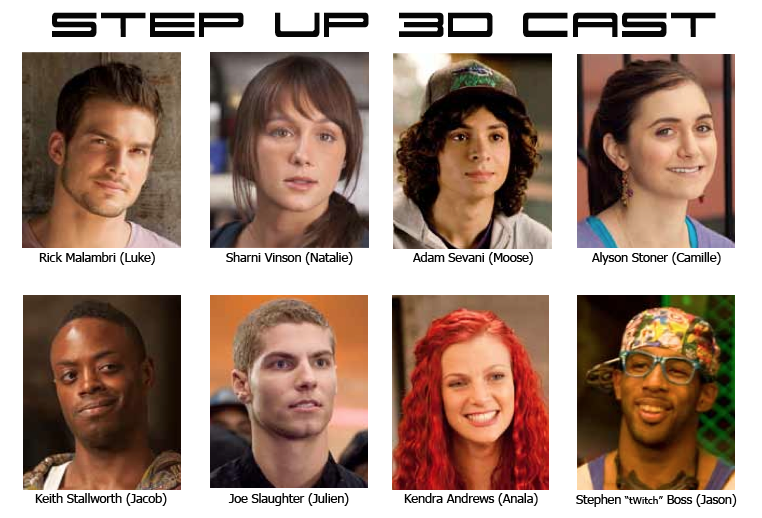 CONVEYANCE AND NOTICE: step up 3D