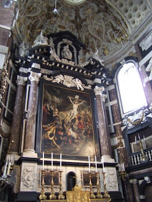 inside St. Carolus Borromeus Church
