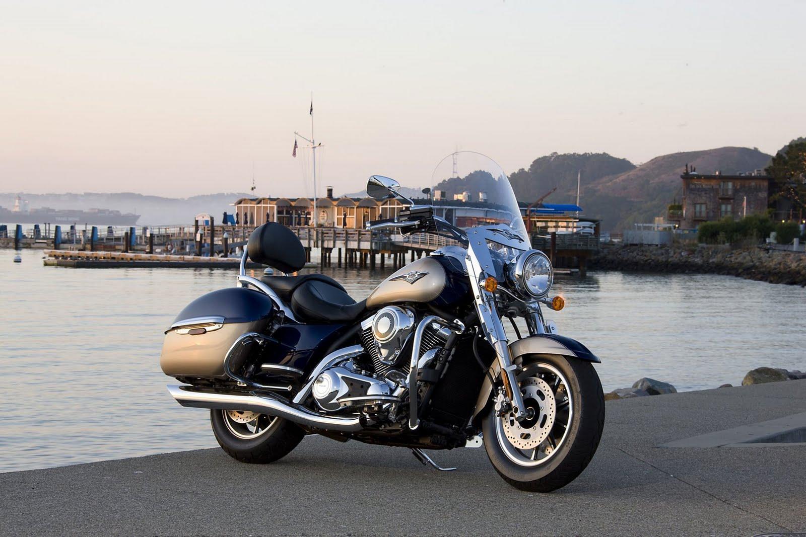 Top Motorcycle  2009 Kawasaki Vulcan 1700 Nomad
