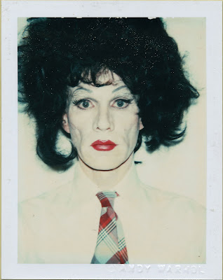 self portrait warhol photo