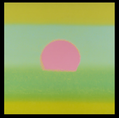 sunset andy warhol