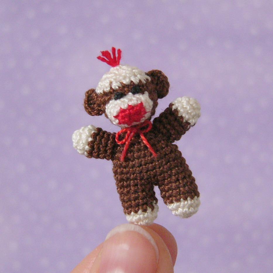 Baby Sock Monkey Pattern