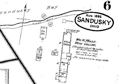Sandusky History William Henry Mills Vintner