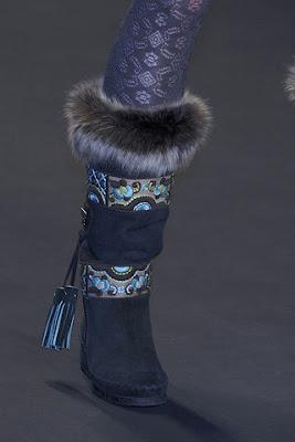 Anna Sui fall 2010