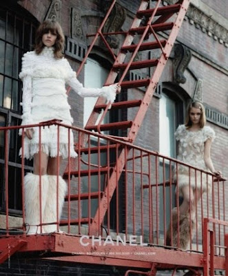 Chanel - Abbey Lee Kershaw and Freja Beha Erichsen by Karl Lagerfeld