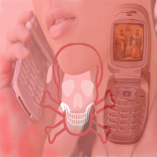 mobile phone mouth cancer