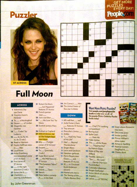 Nifty image throughout people magazine crossword printable