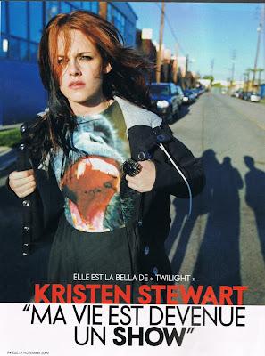 Kristen Stewart Elle Interview on Twilightish  Translated Kristen Stewart Interview In Elle France