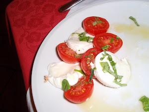 Tomate y mozzarella: un buen invento