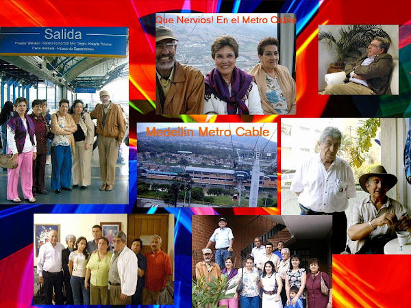 Familia en Medellín