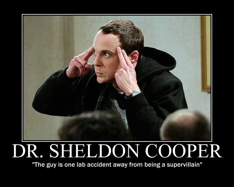 sheldon cooper  have a great day