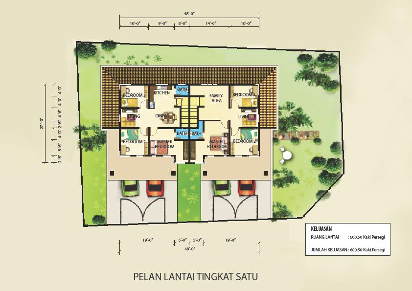 Images of contoh pelan rumah banglo group picture image by for Plan arkitek