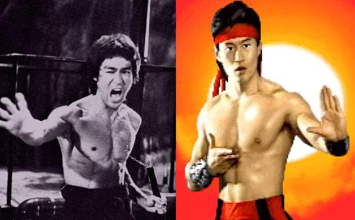 lui kang vs bruce lee