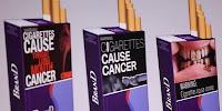 smoke graphic label warning