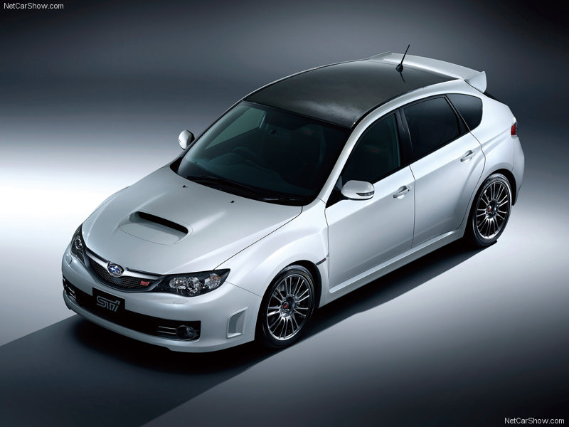 2010 Subaru Impreza WRX STi Carbon: When this new-gen Impreza WRX STi came