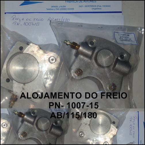 alojamento do freio AB-15/180