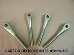 GARFOS DO MONTANTE AB115-180