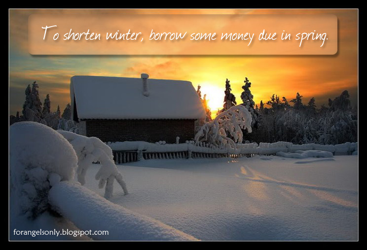 Winter quotes ~ ForAngelsOnly