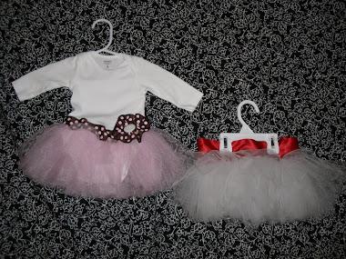 Tutu's $20.00, Diva Ballerina $12.00