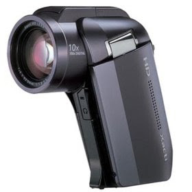 Sanyo Xacti HD1010 4MP MPEG4 High Definition 1080i/1080p Camcorder with 10x Optical Zoom