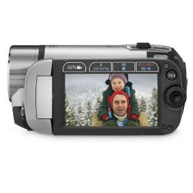 Canon FS21 Dual Flash Memory Camcorder with 16 GB Internal Memory and 37x Optical Zoom