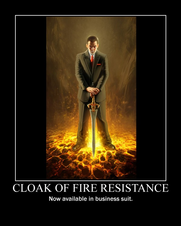 Image result for magical fire resistance