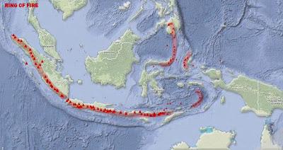 Jalur Cincin Gempa Indonesia