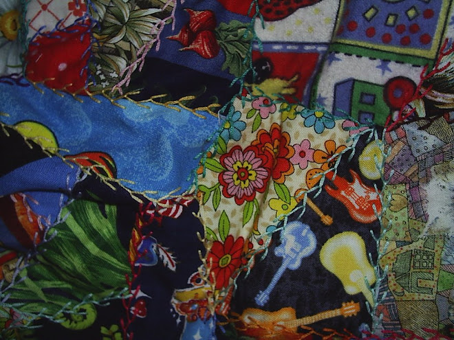 Embroidered Patchwork Detail