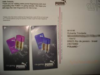 Amostra Gratis Perfume 'I'm Going' da Puma