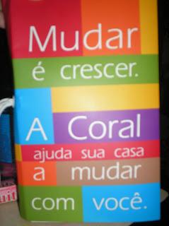 Brinde Gratis Coral Idéia Cards